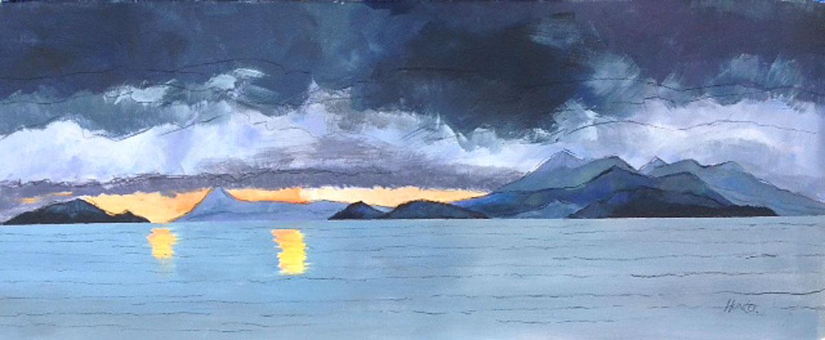 Andrew Hunter - Evening light