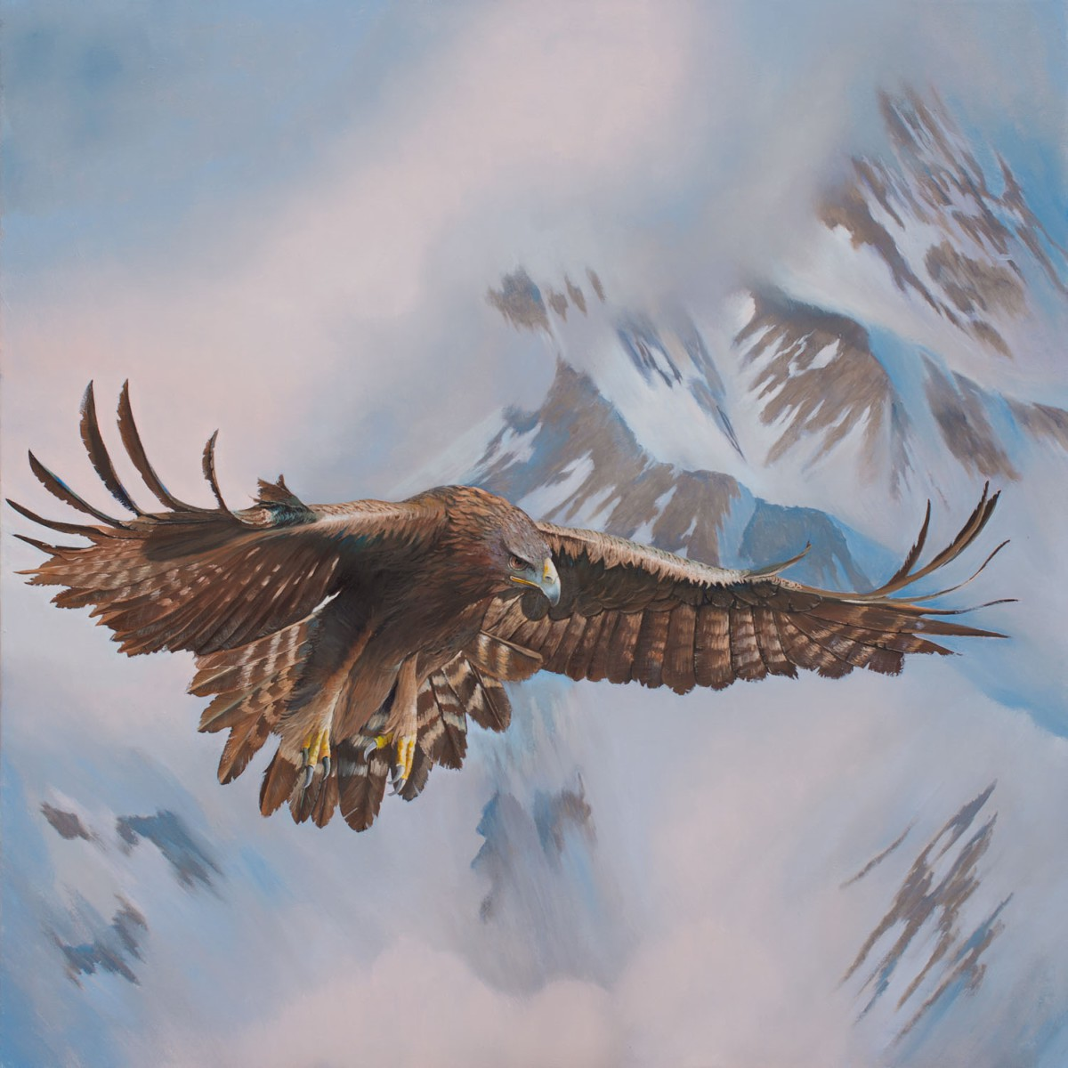 Eric Timms - Luther the Golden Eagle