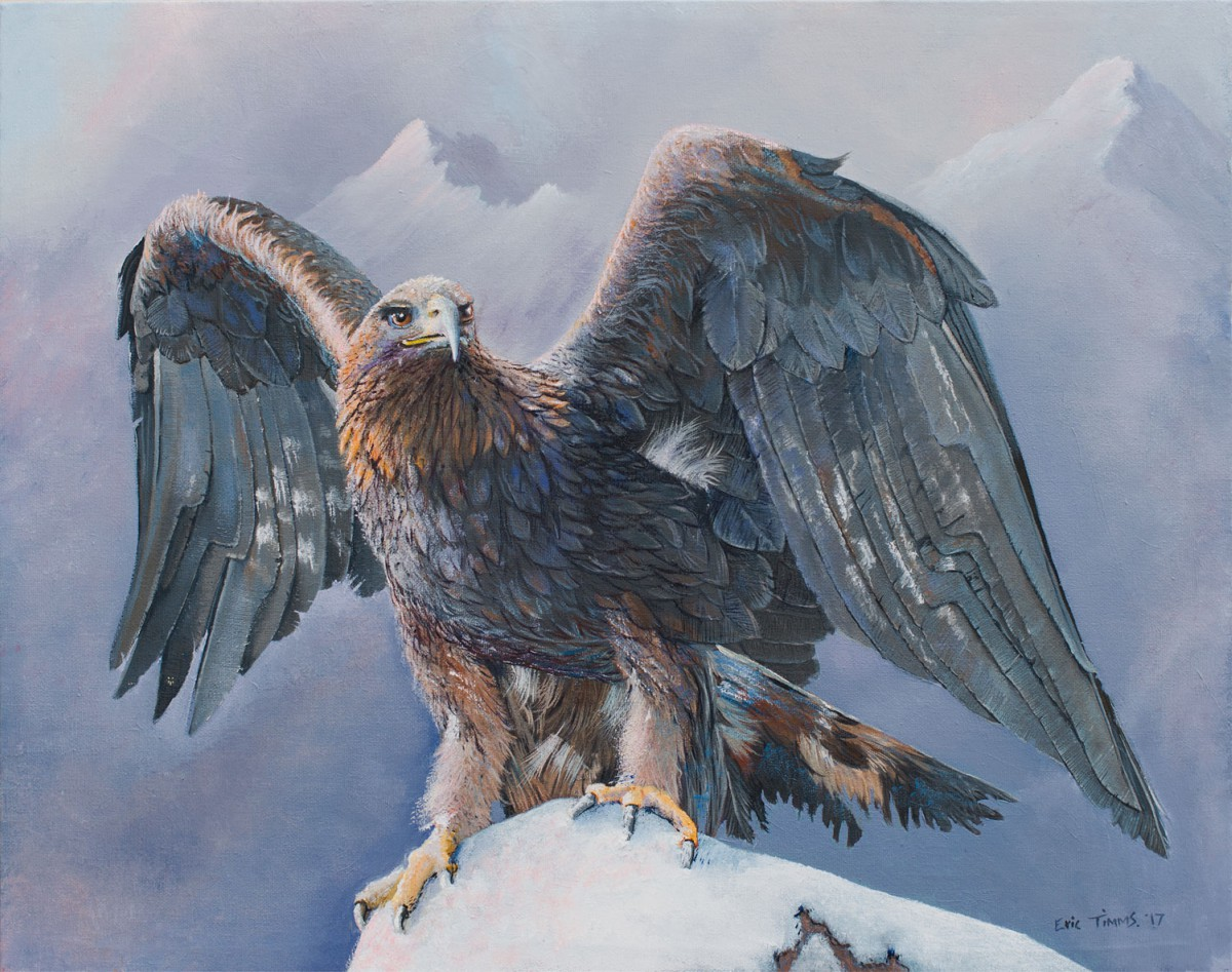 Eric Timms - Sebastion the Golden Eagle