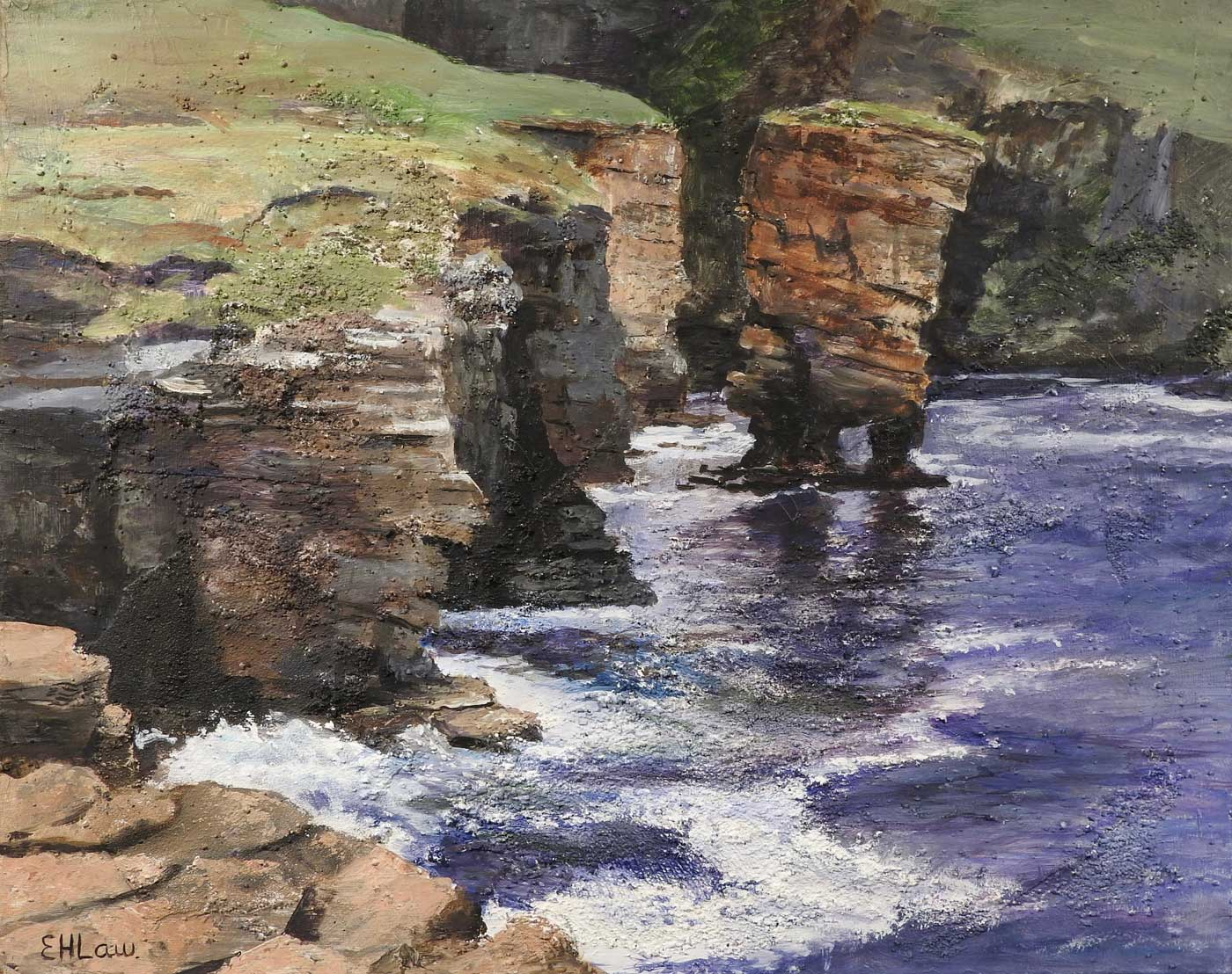 Hilary Law - Stacks at Yesnaby Orkney