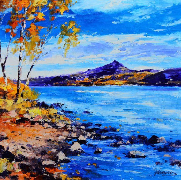 Kevin Fleming - Autumn Schiehallion from Loch Rannoch