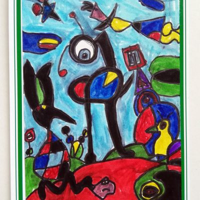 Primary 4-5-Highly commended - Annie M, Breadalbane