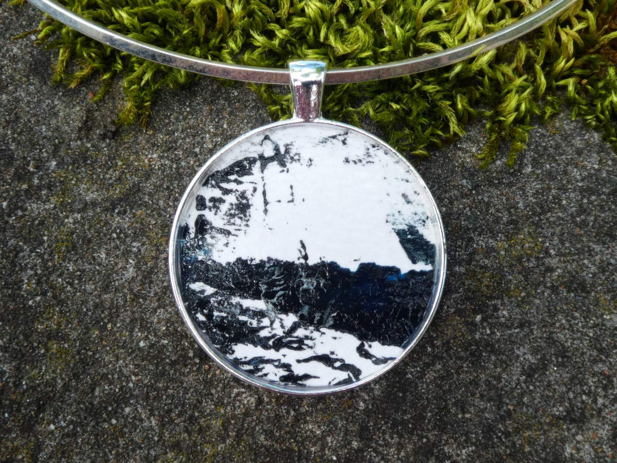 Kate West - Hand Painted Pendant