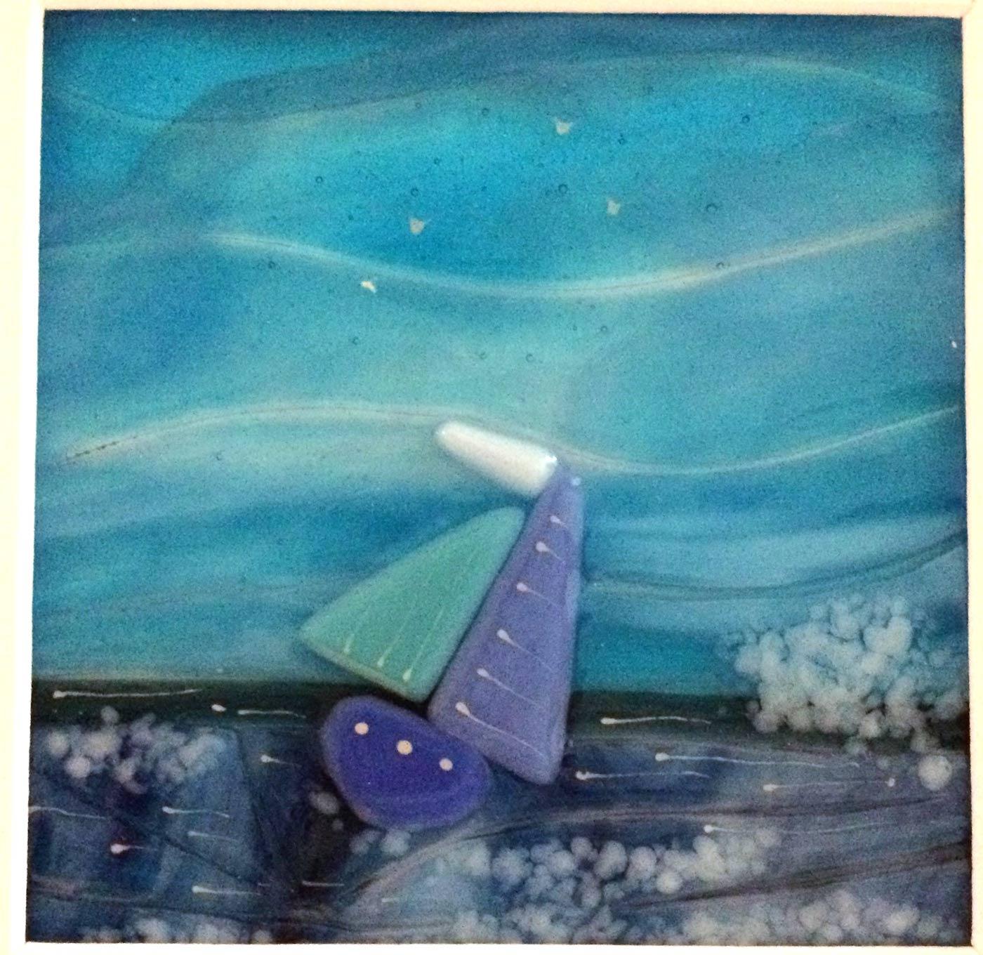 Lynn Shilp - Breagha Glass Sailing Loch Tay