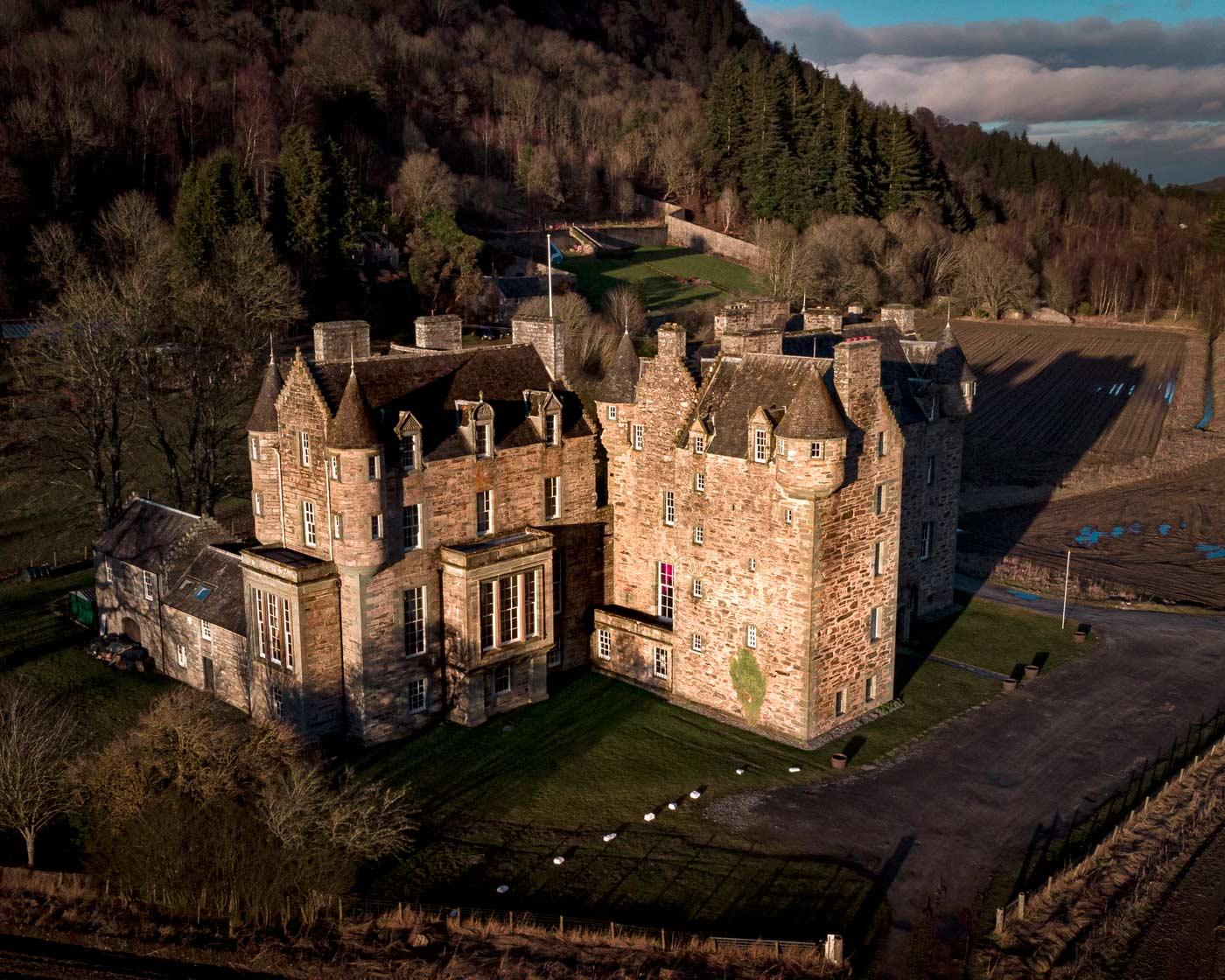 Angus M Hulbert - Castle Menzies Aglow