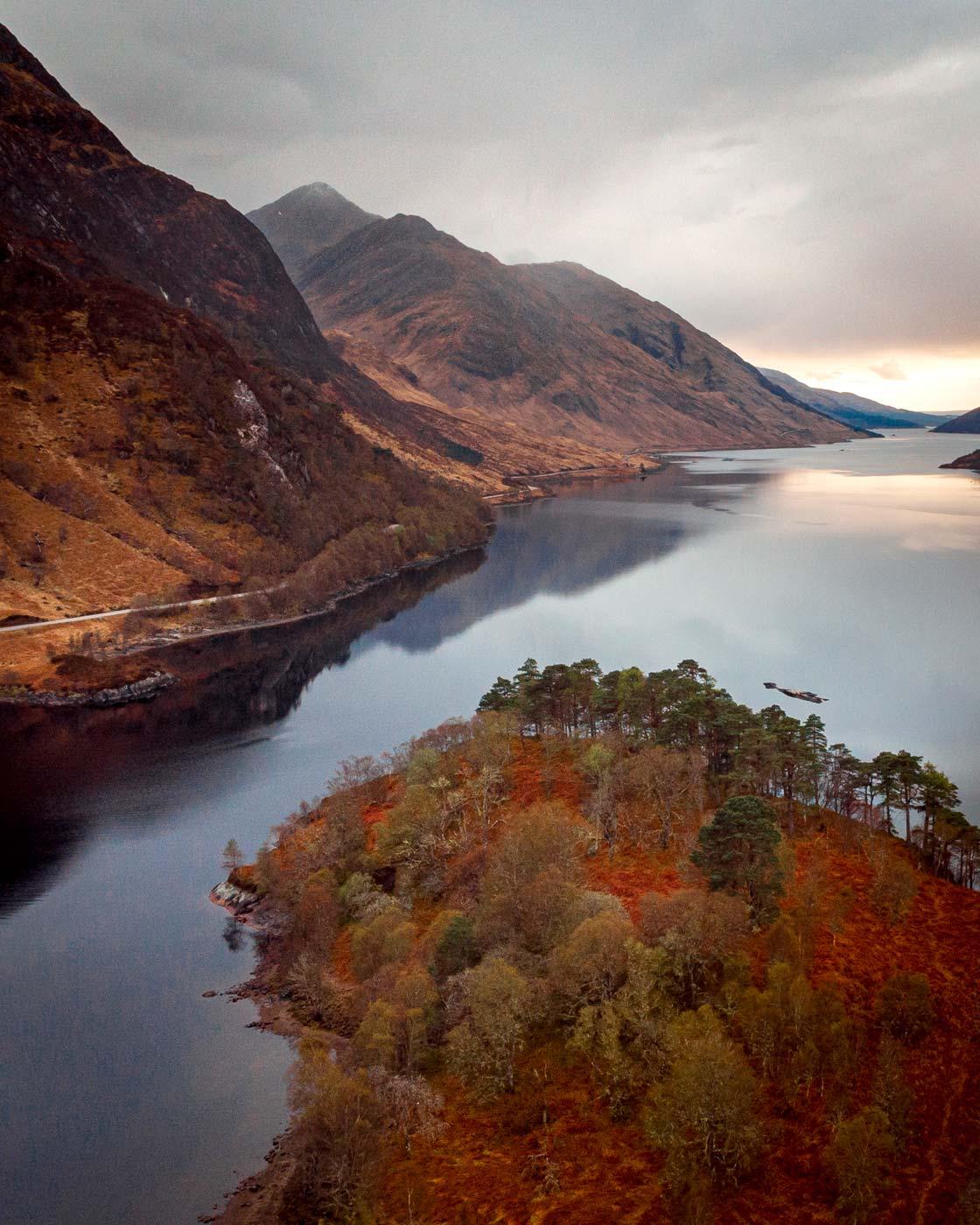 Angus M Hulbert - Glenfinnan The Colours of Scotland