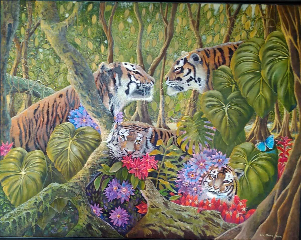 Eric Timms - Tiger Tiger