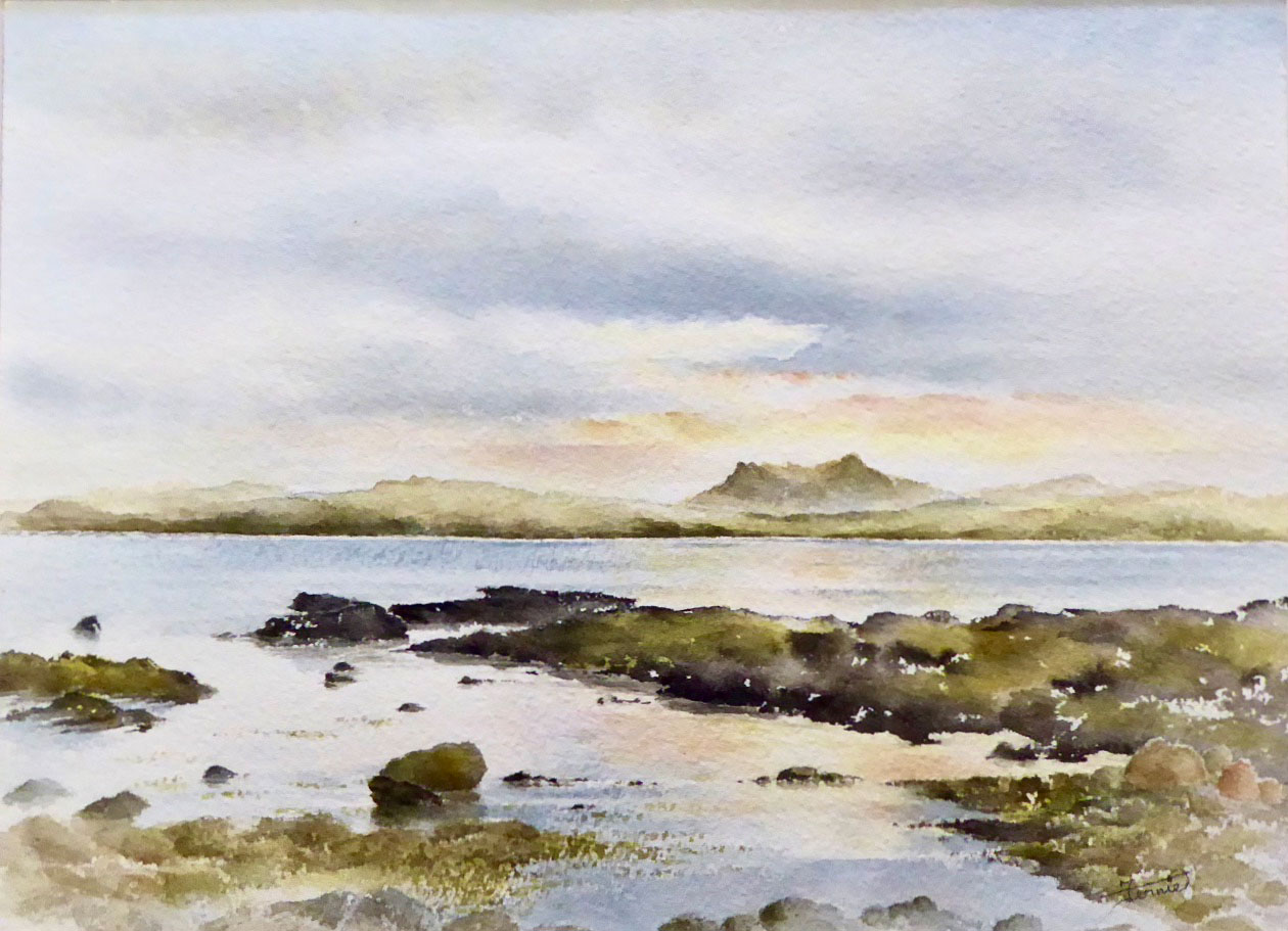 Susan Clare M Fernie - Evening Calm Laide