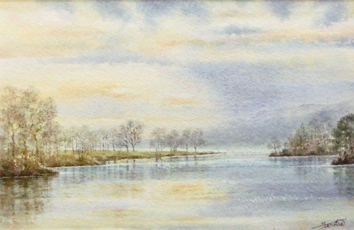 Susan Clare M Fernie - Evening Loch Tummel
