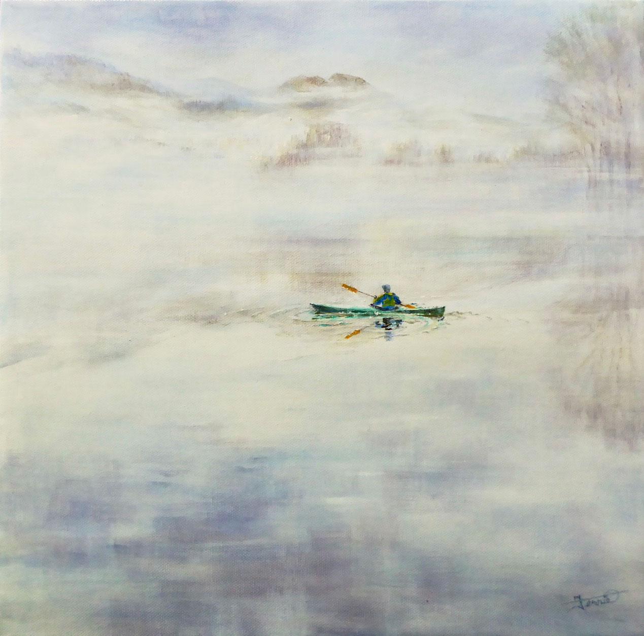 Susan Clare M Fernie - The Green Kayak